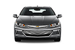 Car photography straight front view of a 2018 Chevrolet Volt Premier 5 Door Hatchback Front View
