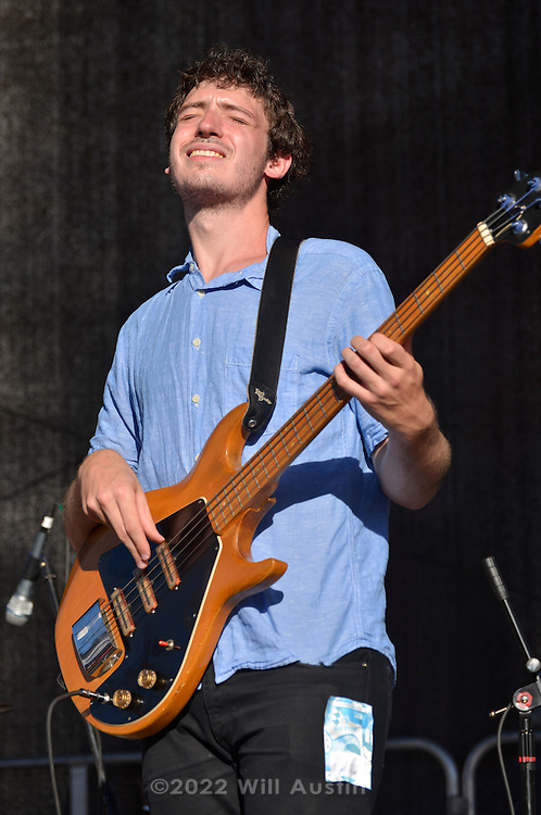 The band Gus + Scout performs at Bumbershoot 2013 in Seattle, WA USA
