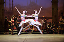 London, UK. 12.01.2016. English National Ballet present Le Corsaire, at the London Coliseum. Picture shows: Alison McWhinney, Isabelle Brouwers (Odalisques). Photograph © Jane Hobson.