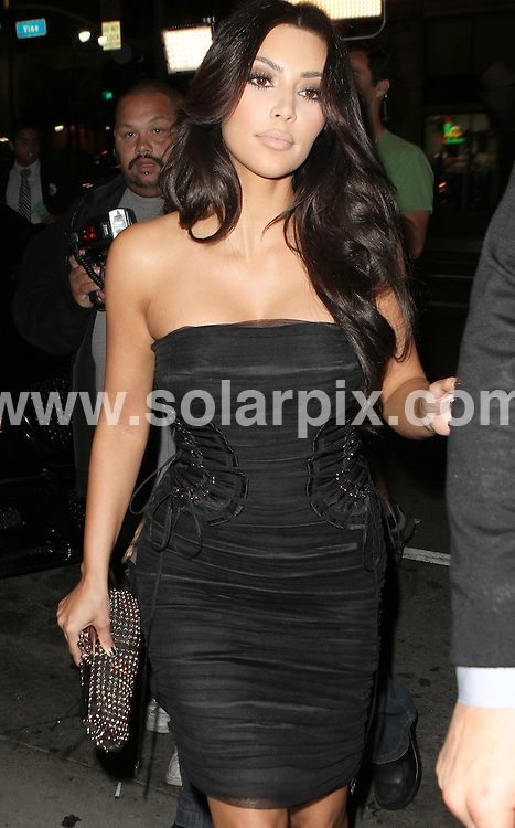 **ALL ROUND PICTURES FROM SOLARPIX.COM**.**SYNDICATION RIGHTS FOR UK AND SPAIN ONLY**.American model and socialite Kim Kardashian and her mother Kris Jenner were seen out for dinner at Katsuya restaurant in West Hollywood, California, USA. 2 June 2010..This pic: Kim Kardashian..JOB REF: 11392 PRT        DATE: 02_06_2010.**MUST CREDIT SOLARPIX.COM OR DOUBLE FEE WILL BE CHARGED**.**MUST NOTIFY SOLARPIX OF ONLINE USAGE**.**CALL US ON: +34 952 811 768 or LOW RATE FROM UK 0844 617 7637**