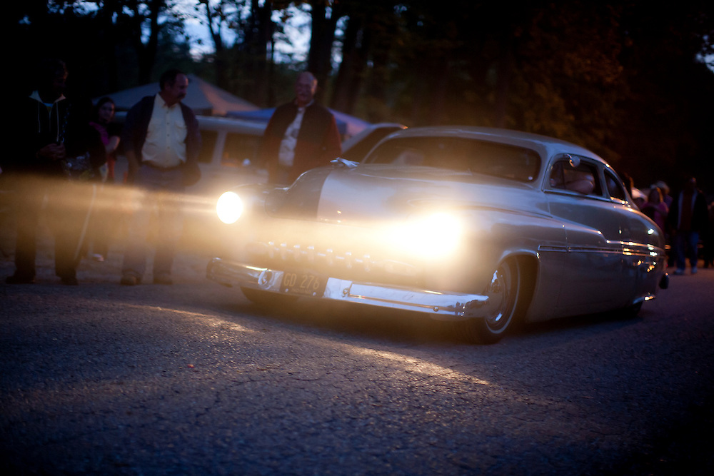 Scenes from the Ducktail Run Rod & Custom Show on Friday, Sept. 28, 2012, in Gas City, Ind. (Photo by James Brosher)