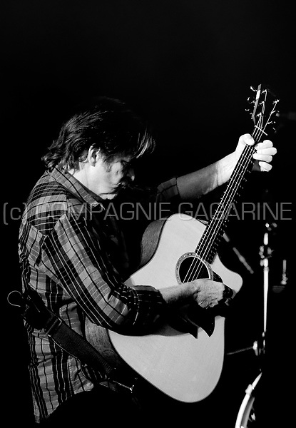 American rock singer, songwriter, and guitarist John Fogerty at the Suikerrock kick-off festival in Tienen (Belgium, 20/07/2010)
