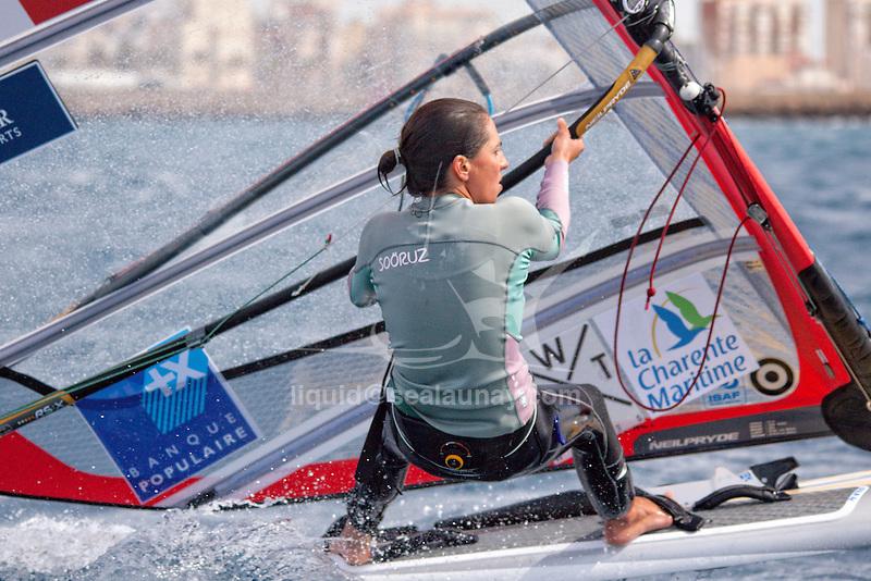 47 Trofeo S.A.R. Princesa Sofía IBEROSTAR Palma - Fédération Française de Voile. RSX Women, Charline Picon.