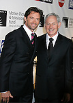 LOS ANGELES, CA. - November 08: Actors Hugh Jackman and Victor Garber  arrive at The 4th Annual A Fine Romance to Benefit The Motion Picture & Televison Fund at Sony Pictures Studios on November 8, 2008 in Culver City, California.