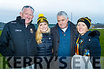 Mike Buckley, Claire Buckley, Bernard McCarthy and Eileen Buckley Dr Crokes Supporters pictured after the County final at Austin Stack Park on Sunday.