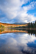 Sandwich Notch - Kiah Pond in Sandwich, New Hampshire USA during the autumn months.