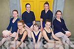 SWAN LAKE: Member's of the Kerry School of Music Ballet group at their open day on Saturday front l-r: Deirdre Glavin, Amy Lynch and Georgina Barter. Centre l-r: Claire Crowley and Aoife Grimes. Back l-r: Muireann Ni? Mhathu?na and Sophie Hand.