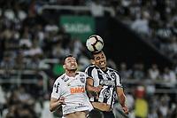 Rio de Janeiro (RJ) 24/07/2019 - Copa do Sul-Americana / Botafogo x Atletico Mineiro – Jogador Diego do Botafogo (d), durante partida válida pela Copa Sul Americana 2019, no estádio do Nilton Santos, na noite desta quarta-feira (24). (Foto: Jayson Braga / Brazil Photo Press)