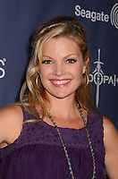 Clare Kramer<br /> The first annual Geekie Awards at The Avalon Hollywood in Hollywood, CA., USA.  <br /> August 18th, 2013<br /> headshot portrait purple sleeveless <br /> CAP/ADM/BT<br /> &copy;Birdie Thompson/AdMedia/Capital Pictures