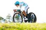 Miguel Angel Lopez Moreno (COL) Astana Pro Team in action during Stage 16 of the La Vuelta 2018, an individual time trial running 32km from Santillana del Mar to Torrelavega, Spain. 11th September 2018.                     <br /> Picture: Unipublic/Photogomezsport | Cyclefile<br /> <br /> <br /> All photos usage must carry mandatory copyright credit (&copy; Cyclefile | Unipublic/Photogomezsport)