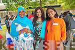 Naima Sherif Ozman, Farzana Khan and Richa Upadhyay enjoying the celebrations for the opening of Tralee International Resource Centre.
