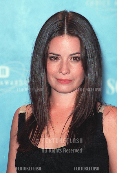 01AUG99: Actress HOLLY MARIE COOMBS at the 1999 Teen Choice Awards, in Santa Monica..© Paul Smith / Featureflash