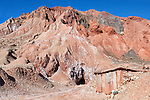 Salt mine in the High Atlas Mountains, Onila Valley, Morocco.