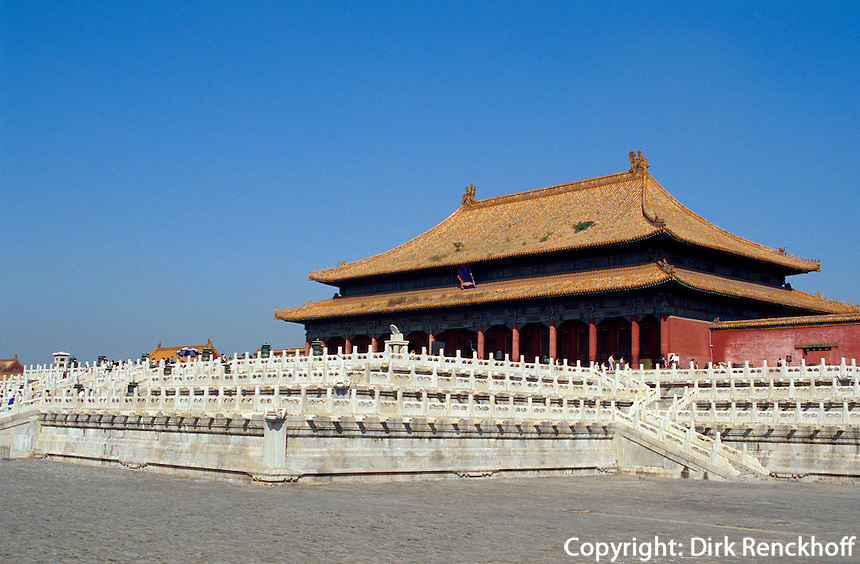 Halle der höchsten Harmonie im Kaiserpalast, Peking, China, Unesco-Weltkulturerbe