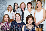 Enjoying a night out in Bella Bia Restaurant  on Friday night last. Seated l-r, Fiona Walsh, Anita Sullivan and Jo Hayley.<br /> Back l-r, Jacinta Bourke, Catherine Foley, Aine Ni Chonghaile, Ger Clifford and Noreen O&rsquo;Driscoll.