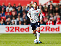 Bolton Wanderers' Andrew Taylor <br /> <br /> Photographer Andrew Kearns/CameraSport<br /> <br /> The EFL Sky Bet Championship - Nottingham Forest v Bolton Wanderers - Sunday 5th May 2019 - The City Ground - Nottingham<br /> <br /> World Copyright © 2019 CameraSport. All rights reserved. 43 Linden Ave. Countesthorpe. Leicester. England. LE8 5PG - Tel: +44 (0) 116 277 4147 - admin@camerasport.com - www.camerasport.com