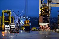 Centreport in Wellington, New Zealand on Thursday, 13 June 2019. Photo: Dave Lintott / lintottphoto.co.nz