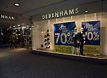 Debenhams January sales 70% price reductions