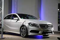 EM2012 Mercedes im Ausstellungsraum