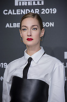 "Eva Riccobono attends the gala night for official presentation of the Presentation of the Pirelli Calendar 2019 ""The cal"" held at the Hangar Bicocca. Milan (Italy) on december 5, 2018. Credit: Action Press/MediaPunch ***FOR USA ONLY***"