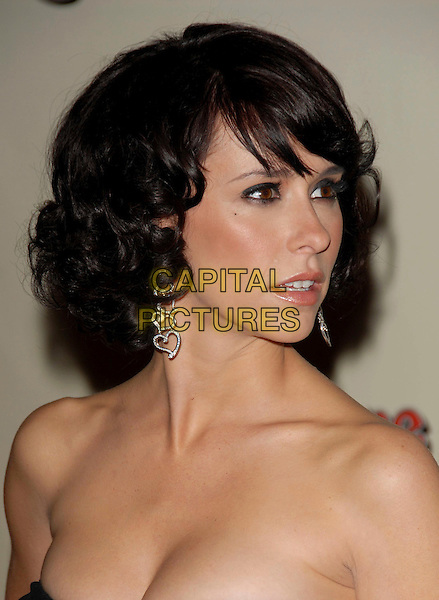 JENNIFER LOVE HEWITT.The US Weekly & Rolling Stone Post Oscar Party held at The Pacific Design Center in Beverly Hills, California, USA..March 5th, 2006.Ref: DVS.headshot portrait dangling diamond heart earrings.www.capitalpictures.com.sales@capitalpictures.com.Supplied By Capital PIctures
