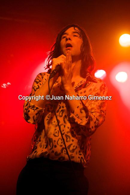 MADRID, MADRID - NOVEMBER 19: Singer Bobby Gillespie of Primal Scream performs at La Riviera on November 19, 2010 in Madrid, Spain. (Photo by Juan Naharro Gimenez)