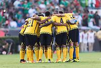 Pasadena, CA - Thursday June 09, 2016: Jamaican Team during a Copa America Centenario Group C match between Mexico (MEX) and Jamaica (JAM) at Rose Bowl Stadium.