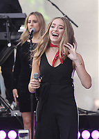 NEW YORK, NY June  07, 2018: Brynn Cartelli winner of the Voice 2018  perform at Today Show Concert Series  in  New York. June 07, 2018 <br /> CAP/MPI/RW<br /> &copy;RW/MPI/Capital Pictures