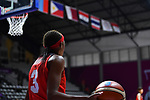 /Stephanie Mawuli (JPN), <br /> AUGUST 15, 2018 - Basketball : Women's Qualification round match between Hong Kong 44-121 Japan at Gelora Bung Karno Basket Hall A during the 2018 Jakarta Palembang Asian Games in Jakarta, Indonesia.<br /> (Photo by MATSUO.K/AFLO SPORT)