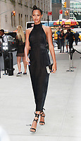 NEW YORK, NY - SEPTEMBER 8: Lais Ribeiro arriving to the Daily Front Row Fashion Awards at Four Seasons NY Downtown in New York City on September 8,  2017. <br /> CAP/MPI/RW<br /> &copy;RW/MPI/Capital Pictures