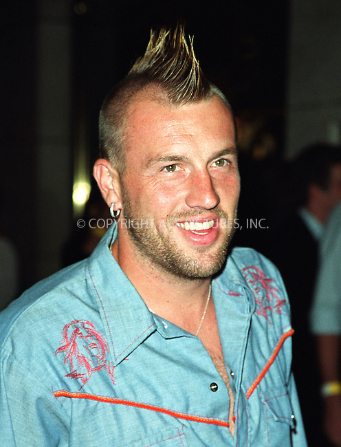 """Clint Mathis  attending the New York Premiere of """"Austin Powers in Goldmember"""" at Barney's New York on Madison Avenue in New York. July 24, 2002. Please byline: Alecsey Boldeskul/NY Photo Press.   ..*PAY-PER-USE*      ....NY Photo Press:  ..phone (646) 267-6913;   ..e-mail: info@nyphotopress.com"""