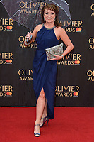 Caroline O'Connor arriving for the Olivier Awards 2018 at the Royal Albert Hall, London, UK. <br /> 08 April  2018<br /> Picture: Steve Vas/Featureflash/SilverHub 0208 004 5359 sales@silverhubmedia.com