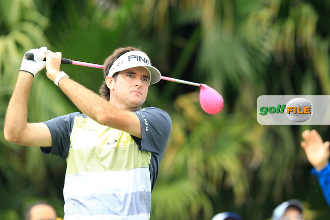 Bubba Watson (USA) during the 3rd round at the WGC Cadillac Championship, Blue Monster, Trump National Doral, Doral, Florida, USA<br /> Picture: Fran Caffrey / Golffile