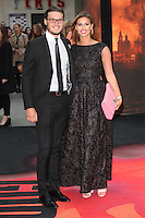Ferne McCann and Charlie Simms arriving for the European premiere of Godzilla, at Odeon Leicester Square, London. 11/05/2014 Picture by: Alexandra Glen / Featureflash