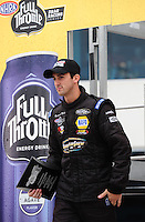 Sept. 16, 2011; Concord, NC, USA: NHRA pro stock  driver Vincent Nobile during qualifying for the O'Reilly Auto Parts Nationals at zMax Dragway. Mandatory Credit: Mark J. Rebilas-US PRESSWIRE