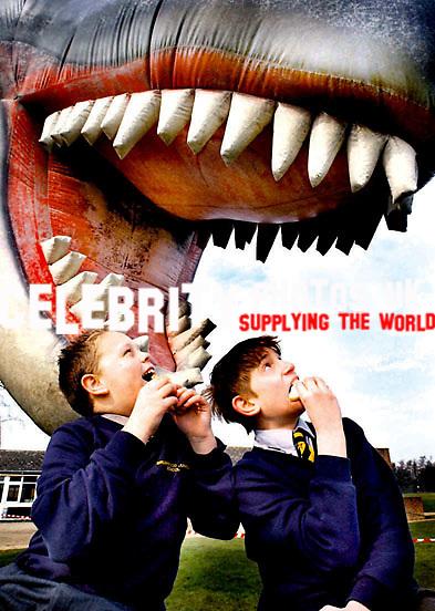 Jake Mathewa,11 and Marco Marians,11 at Dino Day Buushwood School Chesham.picture Brian Jordan.B03398-1