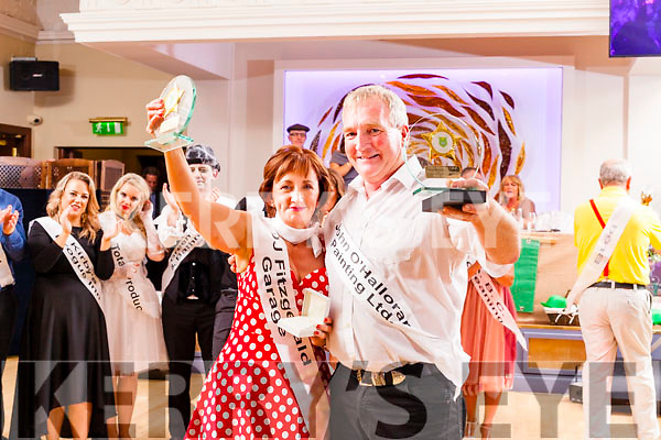 Dancers Mary Dolan and Frank O'Donnell who won the John Mitchel's Strictly Come Dancing at the Ballygarry House Hotel on Sunday night.