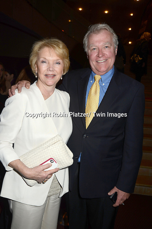 "Erika Slezak and Jerry verDorn attend the New York Premiere of ""All My Children"" and. ""One Life to Live "" on April 23, 2013 at NYU Skirball Theatre in New York City. Prospect Park is producing the shows and they will air on www.hulu.com starting on April 29, 2013."