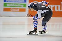 SCHAATSEN: HEERENVEEN: 30-10-2014, IJsstadion Thialf, Topsporttraining, Moniek Klijnstra, Friese Selectie, ©foto Martin de Jong