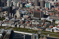 aerial photograph of Montreal, Quebec, Canada