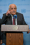 Press Encounter: The Representative from the Permanent Observer Mission of the State of Palestine