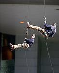 RAF abseilers