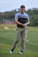 Seamus Power (IRL) reacts to his approach shot on 1 during Round 2 of the Valero Texas Open, AT&T Oaks Course, TPC San Antonio, San Antonio, Texas, USA. 4/20/2018.<br /> Picture: Golffile | Ken Murray<br /> <br /> <br /> All photo usage must carry mandatory copyright credit (© Golffile | Ken Murray)