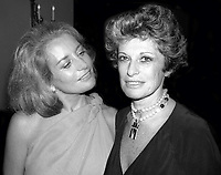 Barbara Walters Marion Javits 1978<br /> Photo By Adam Scull/PHOTOlink.net