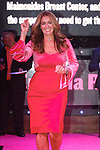 Woman walks runway during the Pink Runway 2017 fashion show by Maimonides Medical Center at Marquee on October 25, 2017.