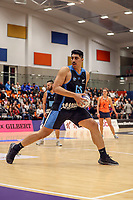 NZ Men's Junior Levi during the Cadbury Netball Series match between NZ Men and All Stars at the Bruce Pullman Arena in Papakura, New Zealand on Friday, 28 June 2019. Photo: Dave Lintott / lintottphoto.co.nz