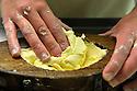 07/05/12 - SAULZET LE FROID - PUY DE DOME - FRANCE - GAEC de la Ligulaire, fabrication de beurre fermier - Photo Jerome CHABANNE
