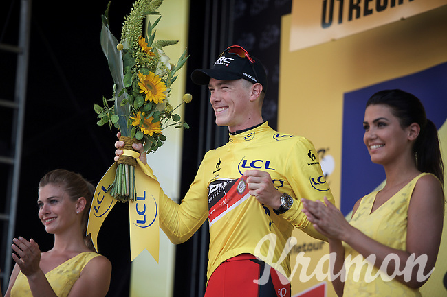 Rohan Dennis (AUS/BMC) wins stage 1 and becomes the first yellow jersey of the 2015 Tour de France<br /> <br /> stage 1 prologue: Utrecht (13.8km)<br /> Tour de France 2015