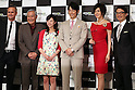 "May 31, 2016, Tokyo, Japan - Casts of Amazon Japan's original drama ""Hapimari, Happy Marriage!?"" (2nd L- 2nd R) Takehiko Ono, Nana Seino, Dean Fujioka and Norika Fujiwara pose with Amazon Studio head Roy Price (L) and Amazon Japan president Jasper Cheung (R) for photo at a promotional event for Amazon Prime Video in Tokyo on Tuesday, May 31, 2016. Amazon Japan announced they would increase original contents for Amazon' video distribution service in Japan.      (Photo by Yoshio Tsunoda/AFLO)"