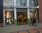 River Island clothes shop in central business district of Swindon, England